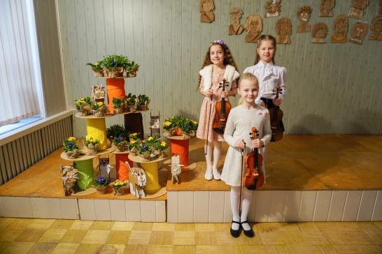 Vijoles spēles audzēkņu konkurss Inčukalnā